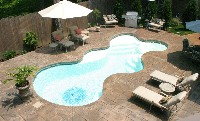 Desert Springs Fiberglass Pool and Spa in Fombell, PA