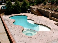 Desert Springs Fiberglass Pool and Spa in Ford City, PA
