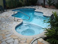 Desert Springs Fiberglass Pool and Spa in Ford Cliff, PA