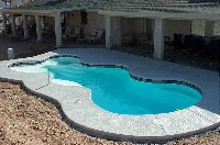 Desert Springs Fiberglass Pool and Spa in Freedom, PA