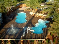 Desert Springs Fiberglass Pool and Spa in Gastonville, PA