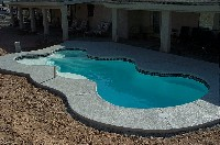 Desert Springs Fiberglass Pool and Spa in Glassport, PA
