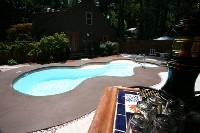 Desert Springs Fiberglass Pool and Spa in Grapeville, PA