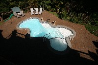 Desert Springs Fiberglass Pool and Spa in Export, PA