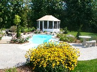Desert Springs Fiberglass Pool and Spa in Fenelton, PA